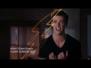 Check Out Grant Gustin's Screen Test For 'The Flash'