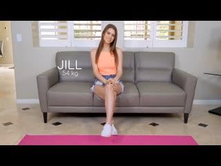 Jill Kassidy - Fit18 - Initial casting ## POV job auditions brunette flexible teen hairy fit yoga pants sport uniform sex porn