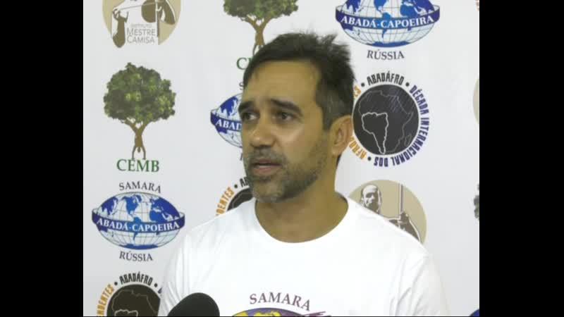 Видеорепортаж Телеканал Самара-Гис. Церемония вручения поясов. Abadá-Capoeira Samara