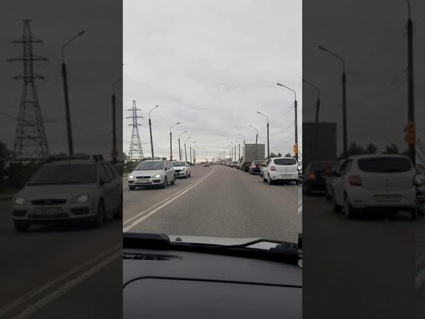Колмовский мост двойная сплошная Не не видели