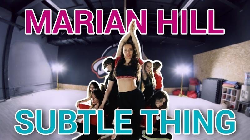 Marian Hill Subtle Thing Jazz Funk Dance Choreography by ILANAMANIA