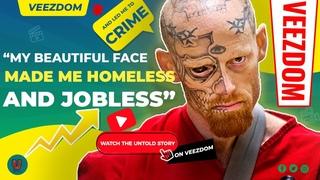 "Flashback - Man with eyeball tattoo ""beautiful face"" made him homeless - The mugshot files"