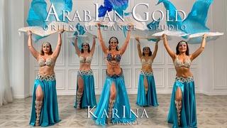 ♪♫ KARINA MELNIKOVA & ARABIAN GOLD DANCE GROUP ♪♫  Dance with veils. Moscow 2020