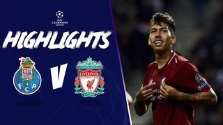 Salah & Firmino help Reds ease past Porto   FC Porto 1-4 Liverpool   Highlights