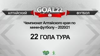 22 гола тура. Сезон 2020/2021