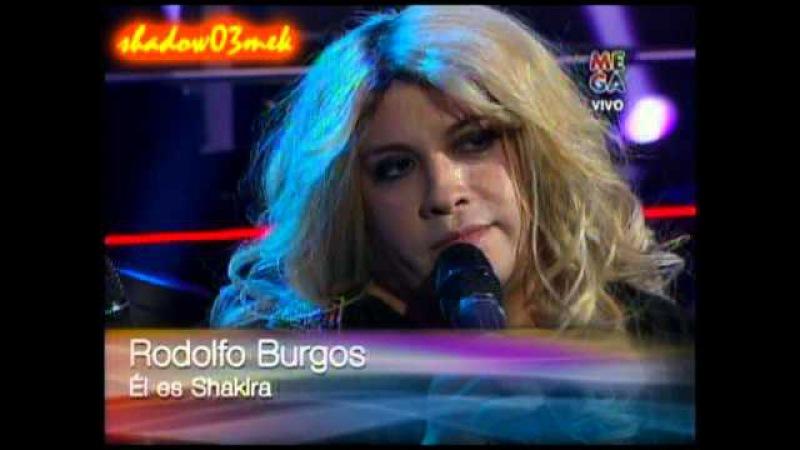 Yo soy Shakiro doble chileno Shakira preparacion y transformacion