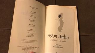 AŞKIN HAZLARI - CRIMES OF LOVE #MARQUIS DE SADE