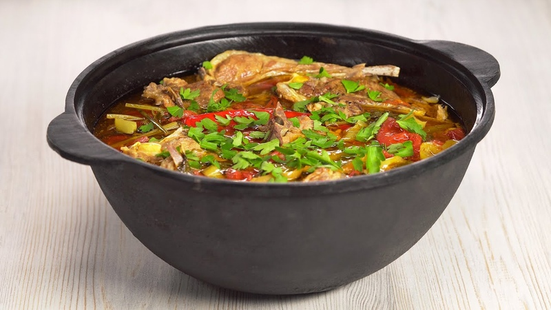 На огне или на плите Знаменитая БУГЛАМА томленая баранина с овощами Рецепт от Всегда Вкусно