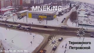 ДТП, Пенза, перекресток улиц Терновского и Петровской г. в