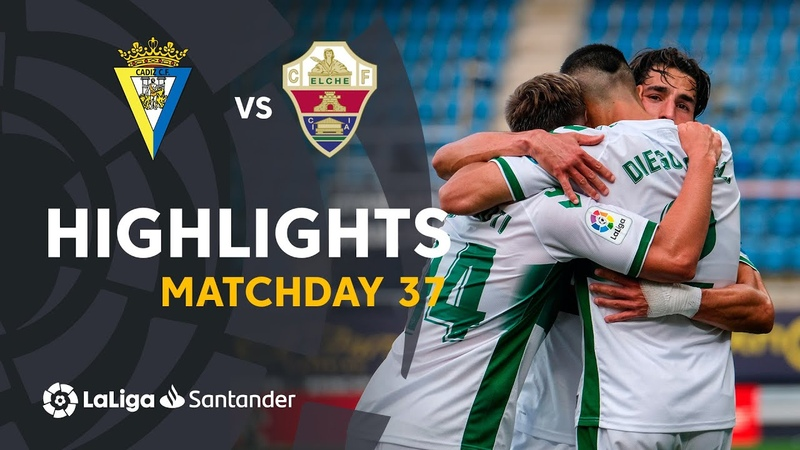 Resumen de Cádiz CF vs Elche CF 1 3