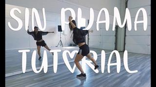 """SIN PIJAMA"" DANCE TUTORIAL - (STEF WILLIAMS REGGAETON CLASS)"
