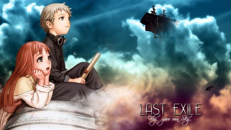 Изгнанник Last Exile Все серии подряд Аниме марафон
