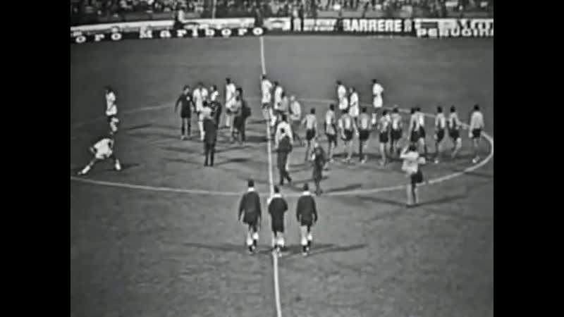 Сент Этьенн Кальяри Ответный матч Обзор матча 1 16 финала КЕЧ 1970 1971
