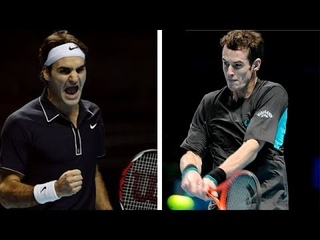 Roger Federer vs Andy Murray ATP World Tour Finals - London 2009 Highlights