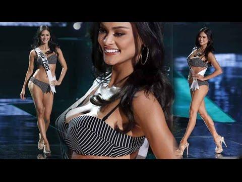 *Pia Alonzo Wurtzbach Philippines* Swimsuit Competition*Miss Universe 2015*720p***