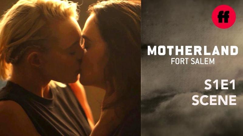 Motherland Season 1 Episode 1 Raelle Scylla Kiss Freeform