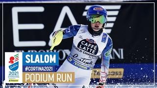 Mikaela Shiffrin | Bronze | Women's Slalom | 2021 FIS World Alpine Ski Championships; опублик.  г.