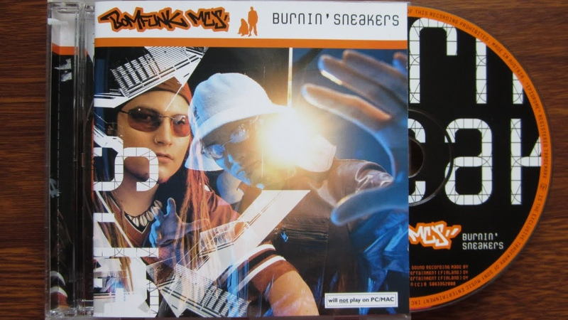 Bomfunk MC's Burnin' Sneakers unboxing cd