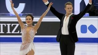 Мэдисон Чок - Эван Бейтс. Ритм-танец. Танцы на льду. Чемпионат мира по фигурному катанию 2021
