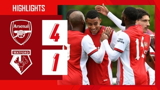 HIGHLIGHTS | Arsenal vs Watford (4-1) | Nketiah, Lacazette, Tierney, Azeez