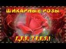 ШИКАРНЫЕ РОЗЫ ДЛЯ ТЕБЯ! красивая музыкальная открытка komur