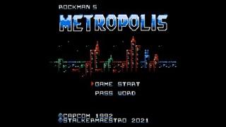 Mega Man Hack Longplay - Rockman 5: Metropolis