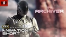 Sci Fi CGI 3d Animated Short Film ** THE ARCHIVER ** Fantasy Adventure Animateion movie by ArtFX
