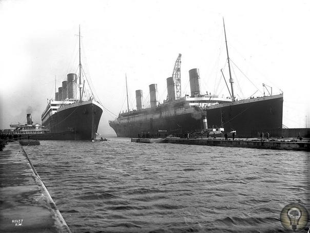 Судьба братьев «Титаника» Олимпик серия трансатлантических лайнеров: «Олимпик», «Титаник» и «Британник». Все на момент ввода в эксплуатацию являлись самыми большими судами в мире. Лайнер
