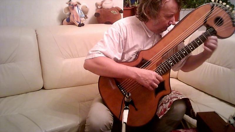 Sarabande by Logy played on Bogengitarre