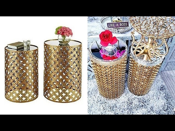 HOW TO USE CAR TIRE RUBBERS TO MAKE SIDE TABLES FOR LESS QUICK AND EASY GIFT IDEAS