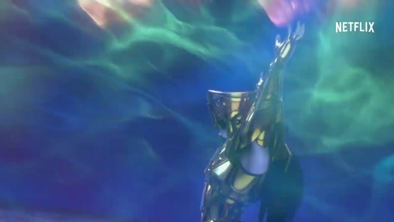 Трейлер ко 2 части (7-12 эпизоды) аниме-сериала Рыцари Зодиака: Святой Сэйя / Knights of the Zodiac: Saint Seiya
