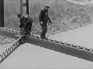 How bridges were constructed over 100 years ago