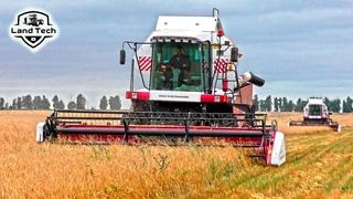 NOVA 340 - самый лучший комбайн для фермера? Два новых комбайна работают на поле!