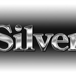 Серебряные алфавиты (латиница и кириллица) для веб-дизайна