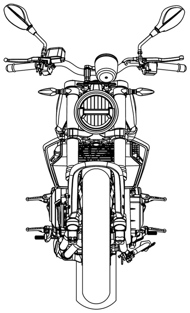 Дизайнерские наброски Harley-Davidson 338R