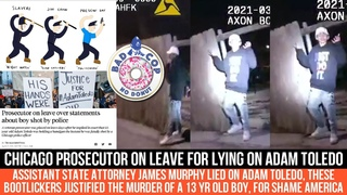 Ohio Prosecutor On Leave For LYING On Adam Toledo, He Was UNARMED During Shooting I Bad Cop No Donut