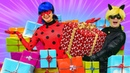 Кукла Барби злая из-за подарка для Кена. Леди Баг и Супер-Кот в видео для девочек