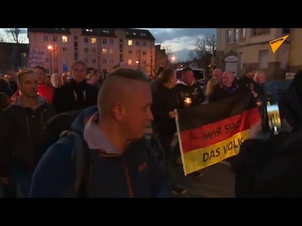Ministerpräsidentenwahl in Thüringen: AfD-Anhänger versammeln sich in Erfurt – Gegendemo erwartet