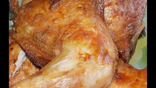 нежнейшие куриные окорочка в кефире
