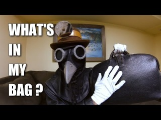 What's in my Bag with Corvus D. Clemmons ASMR Plague Doctor
