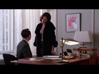 Jessica Par (Pare), Alexis Bledel - Mad Man s05e09 (2012)  HD 1080p Nude Hot! / Джессика Паре, Алексис Бледел - Безумцы
