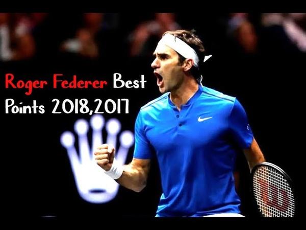 Roger Federer Best points Laver cup 2017 2018