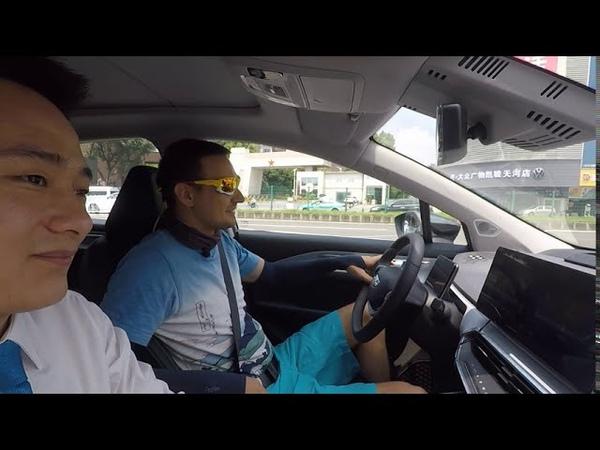 Китайский кроссовер Geely Geometry C электрокар из Китая электромобиль Геометрия С от Джили