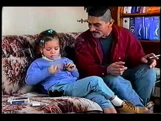 Thalia  (Child learning to smoke with your father)