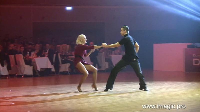 Artur Balandin Anna Salita Rumba Euro Dance Festival 2018