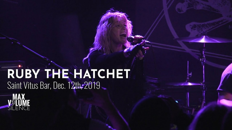 RUBY THE HATCHET live at Saint Vitus Bar Dec 12th 2019 FULL SET