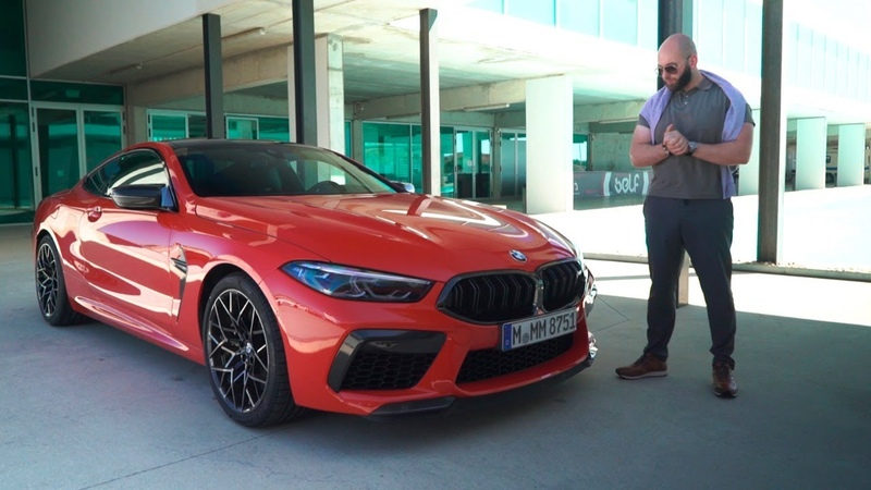 Первый тест BMW M8 Competition Что с тобой не так