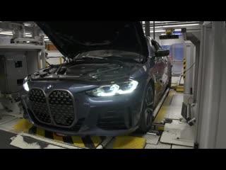Новый BMW 4 серии 2021 - завод по производству в Германии