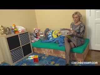 Czechdeviant - Brittany Bardot - Blonde cougar pampers guy to fuck Подростки,Cперма,Минет,Инцест,На камеру,Кастинг,MILF,2020