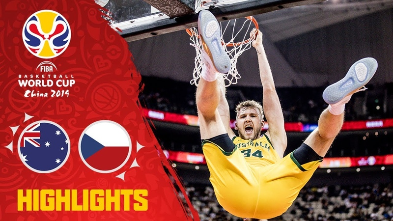 Australia v Czech Republic - Highlights - Quarter-Final - FIBA Basketball World Cup 2019. Кубок Чемпионат мира. 14 финала. Обзор. Австралия - Чехия